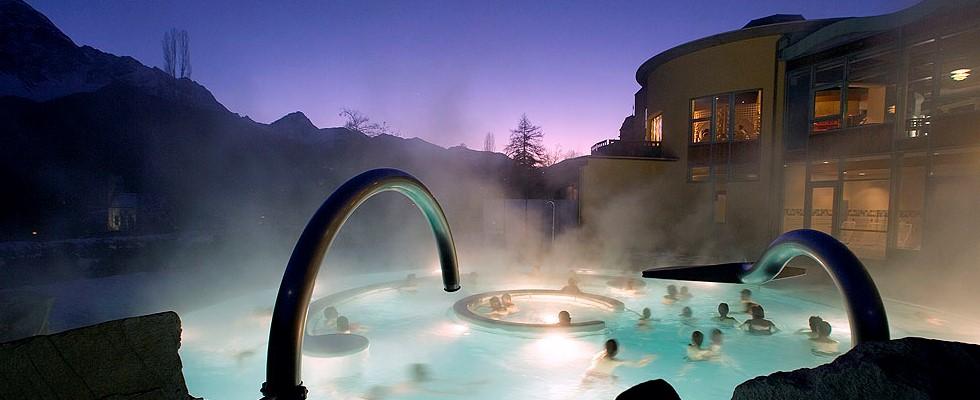 spa Bad Tarasp, Скуоль, Швейцария - термальные бани